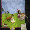 Honorable Mention<br /> The Dinosaur Quilt<br /> Rebecca Everitt