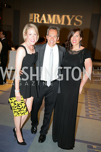 Lindley Thornburg, Winston Lord Bao, Gretchen Gustafson,  2014 RAMMY Awards at the Walter E. Washington Convention Center, Sunday, June 22nd, 2014.  Photo by Ben Droz.