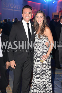 Michael Woestehoff, Kate Michael,  2014 RAMMY Awards at the Walter E. Washington Convention Center, Sunday, June 22nd, 2014.  Photo by Ben Droz.