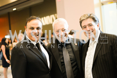 Ashock Bajaj, Japul Cohn, Thomas Papadopoulos, 2014 RAMMY Awards at the Walter E. Washington Convention Center, Sunday, June 22nd, 2014.  Photo by Ben Droz.