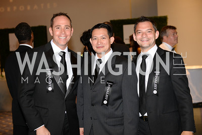 Bourbon Steak, Mark Polipzer, Pablo Lemus, David Fascitelli,  2014 RAMMY Awards at the Walter E. Washington Convention Center, Sunday, June 22nd, 2014.  Photo by Ben Droz.