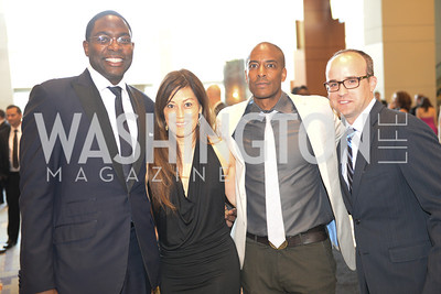 Andre Wells, Nancy Koide, Tony Hudgins, Derek Holt,  2014 RAMMY Awards at the Walter E. Washington Convention Center, Sunday, June 22nd, 2014.  Photo by Ben Droz.