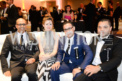 COCO SALA, Santosh Tiptur, Katie Yen, Rachid Hadouche, Miloud Elattaoui,  2014 RAMMY Awards at the Walter E. Washington Convention Center, Sunday, June 22nd, 2014.  Photo by Ben Droz.