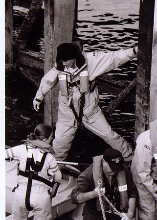 craig getting onto boat 2003