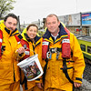 Rainy Day doesnt stop the RNLI Mayday Campaign in Dún Laoghaire.