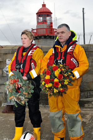 Christmas Eve - RNLI Dún Laoghaire Wreath Laying & Remembrance Service
