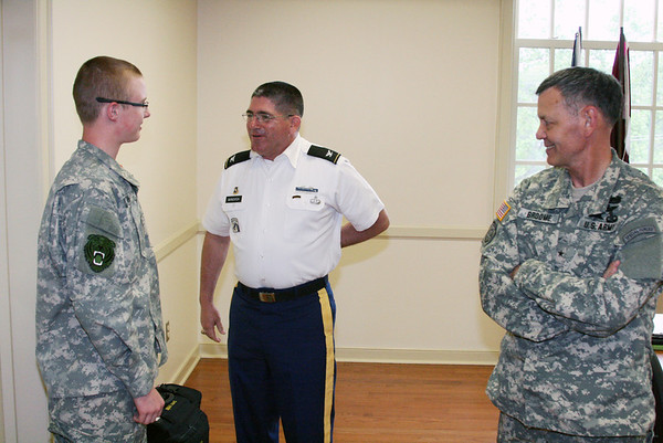 ROTC Scholarships Recognized