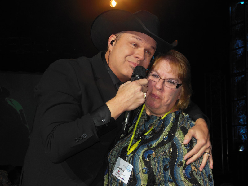 Joyce Brein and Clay Cooper at the Clay Cooper Show in Branson