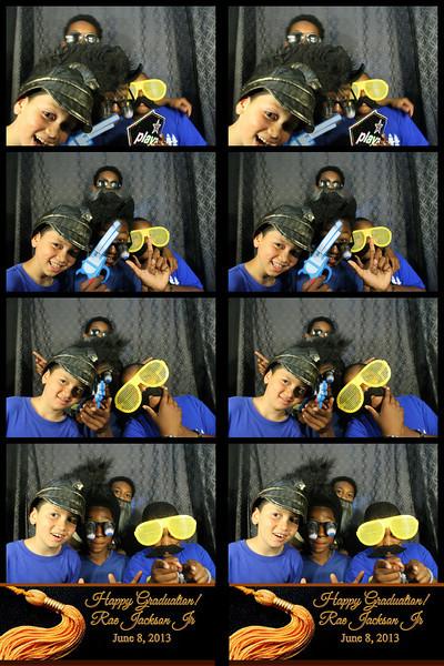 Rae Jackson Jr. Graduation Party 6.8.13 Photo Strips