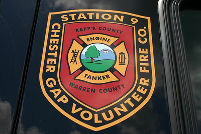 Chester Gap Fire and Rescue - Rappahannock County Virginia.  Chester Gap sits on the borders of Rappahannock and Warren Counties.