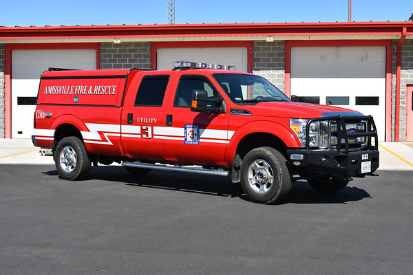 Amissville, Virginia Utility 3, a 2014 Ford F350 4x4.