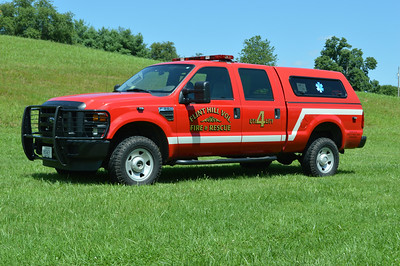Utility 4 is a 2009 Ford F-350 4x4.