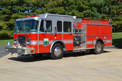 Washington Fire and Rescue - Rappahannock County Station 1.  Engine 1 is this 1997 Spartan/Luverne, 1250/1000/50, sn- 39245W.