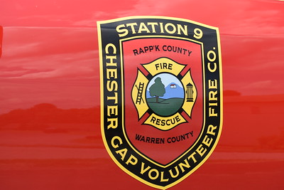 Chester Gap Volunteer Fier Co. - Station 9 in Rappahannock County.  Chester Gap is located very close to Warren County, just outside of Front Royal, VA.  As a result, many of the apparatus have both Rappahannock and Warren County labeled on them.