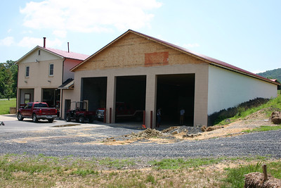 Station 2 addition under construction.