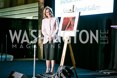 Renée Fleming. Photo by Alfredo Flores. Reception and presentation of Renee Fleming portrait. National Portrait Gallery. June 4, 2014