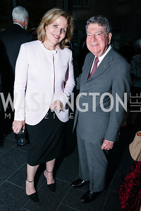 Renée Fleming, Calvin Cafritz. Photo by Alfredo Flores. Reception and presentation of Renee Fleming portrait. National Portrait Gallery.CR2