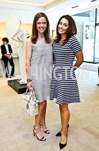 Sally Ein, Lindsay Ellenbogen. Photo by Tony Powell. Reed Krakoff Fashion Show and Brunch. Saks Jandel. May 18, 2014