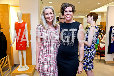 Cynthia Steele Vance, Stacy Van Praagh. Photo by Tony Powell. Reed Krakoff Fashion Show and Brunch. Saks Jandel. May 18, 2014