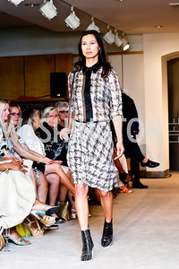 Photo by Tony Powell. Reed Krakoff Fashion Show and Brunch. Saks Jandel. May 18, 2014