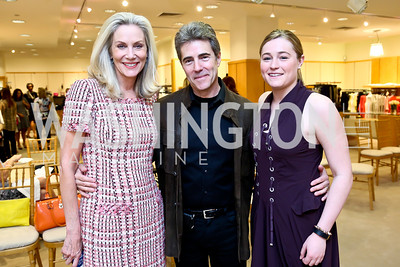 Cynthia Steele Vance, Peter Marx, Sally Marx. Photo by Tony Powell. Reed Krakoff Fashion Show and Brunch. Saks Jandel. May 18, 2014