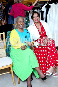 Joyce Clements Smith, Jennifer Coleman. Photo by Tony Powell. Reed Krakoff Fashion Show and Brunch. Saks Jandel. May 18, 2014