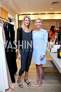 Paige Speyer, Laura Gail Smith. Photo by Tony Powell. Reed Krakoff Fashion Show and Brunch. Saks Jandel. May 18, 2014
