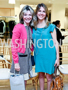 Kay Kendall, Ivey Howells. Photo by Tony Powell. Reed Krakoff Fashion Show and Brunch. Saks Jandel. May 18, 2014