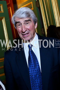 Sam Waterston. Photo by Tony Powell. Refugees International 35th Annual Dinner. Mellon Auditorium. April 30, 2014