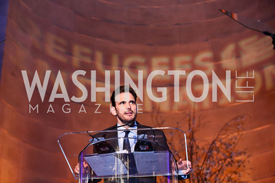 Matt Dillon. Photo by Tony Powell. Refugees International 35th Annual Dinner. Mellon Auditorium. April 30, 2014
