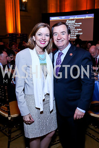 Marie Royce and Rep. Ed Royce. Photo by Tony Powell. Refugees International 35th Annual Dinner. Mellon Auditorium. April 30, 2014