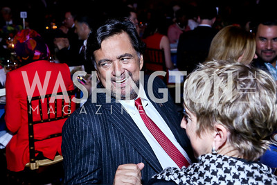 Former Governor of New Mexico Bill Richardson. Photo by Tony Powell. Refugees International 35th Annual Dinner. Mellon Auditorium. April 30, 2014