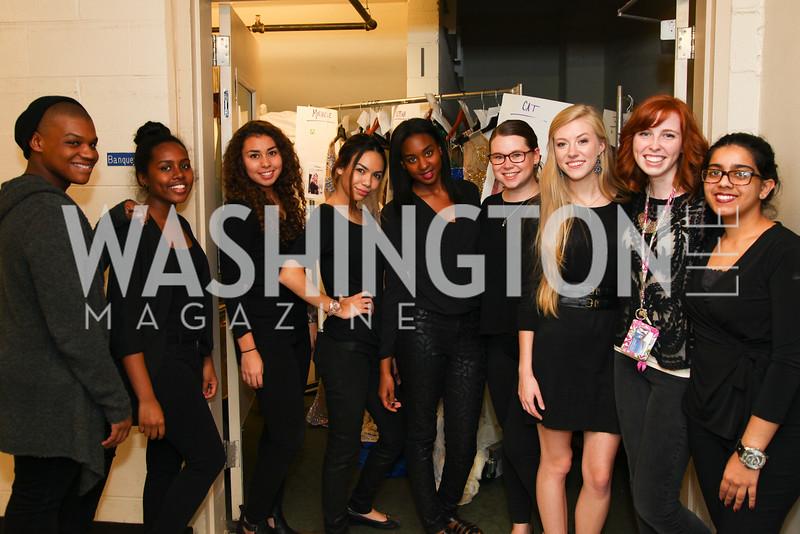 The wardrobe crew!