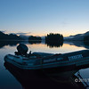 "Pre-dawn light with zodiac, around 4 am, Rescue Bay, BC<br /> <br /> I really couldn't decide between two different sunrise photos to post today.  In the end I went with this one.  The other one is here: <a href=""http://goo.gl/W7QBO"">http://goo.gl/W7QBO</a><br /> Which do you prefer?<br /> <br /> I'm off on a short trip today, but I will try to post and comment when possible since I will have internet access, unlike on many of my more remote trips. Maybe I'll even get time to take a photo or two between meetings, since Basel has a lovely, authentic old city dating back to the 1300s :-)"
