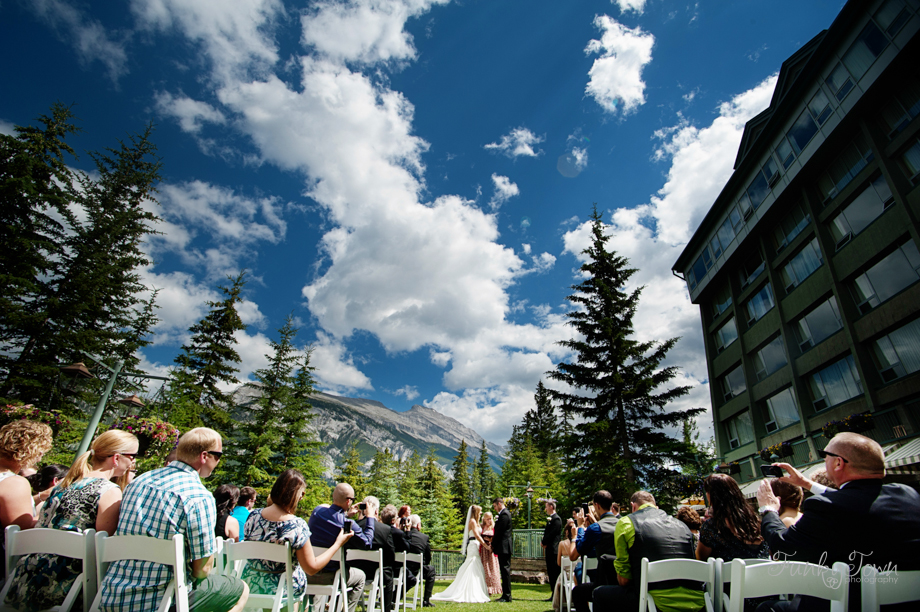 Rimrock Resort Banff Alberta Reception Weddings Photographer