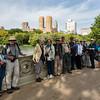 Group at Bow Bridge
