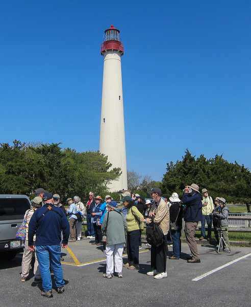 Road Scholars at Cape May Lighthouse State Park