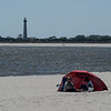 Cape May Beach Scene
