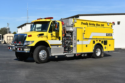 Tanker 209 from Grottoes, VA is a 2006 International 7400/KME with a 1000/1800 and s/n GSO 6731.