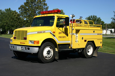 Brush 206 is this interesting 1990 International 4x2/Phenix, 95/300, ex-National Park Service.