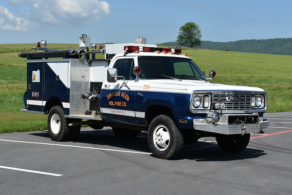 Another view of ex- Attack 754 from Singers Glen, VA.