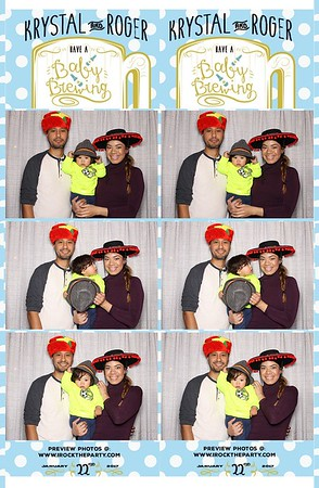Roger & Krystal's Baby Shower - Photo Booth Pictures