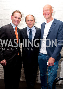 Russ Ramsey, Mark Ein and Coach Murphy Jensen of the Washington Kastles