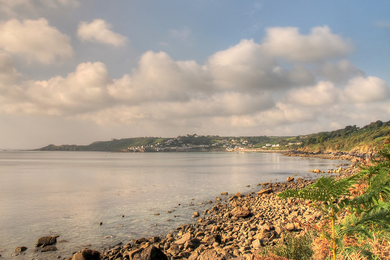Coverack from the path near Lowland Point