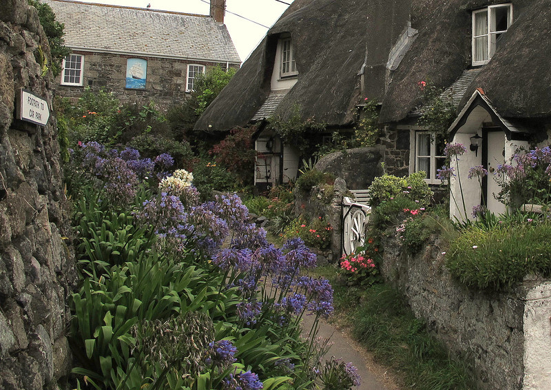 Cottages in Cadgwith.