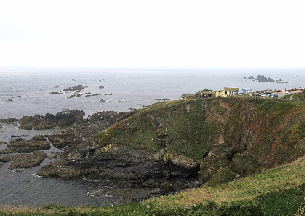 After a quick visit to the most southerly point of mainland Britain, it is off along the coast path.