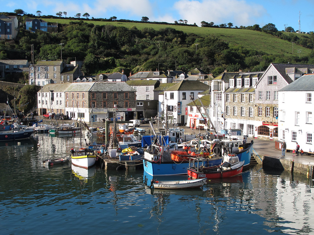 You can't go wrong with Cornish fishing boats and lots of sun!   Early morning sun at Mevagissey.
