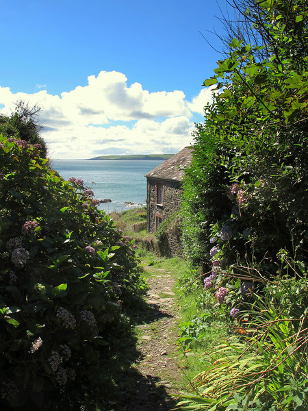 A cottage at Ropehaven Nature Reserve.