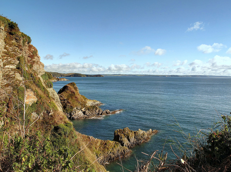 Now on with the walk, near Polstreath