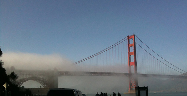Golden Gate fog, San Francisco
